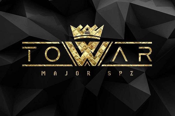 Plakat koncertu Majora w Poznaniu (10.11., klub Schron)