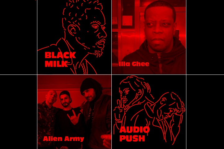 Hip-Hop-Kemp-2019-Black-Milk-Illa-Ghee-Alien-Army-Audio-Push-grafika